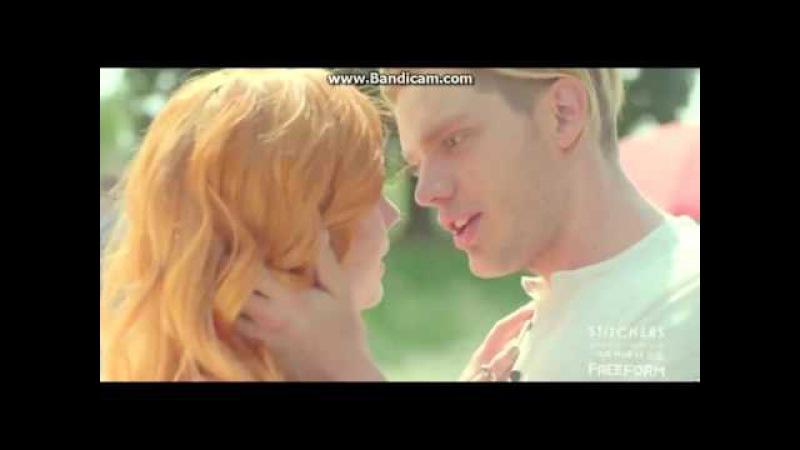 Jace and Clary (kiss)Джейс и Клери /сумеречные охотники...