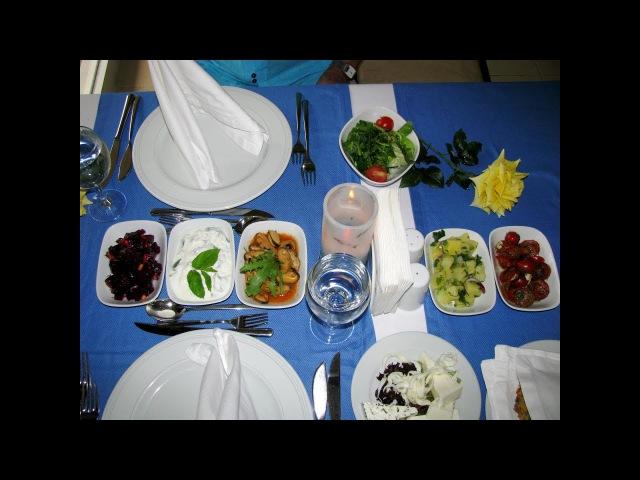 Ужин в ресторане A la carte отеля Grand Haber Hotel 5*, Кемер. Турция.