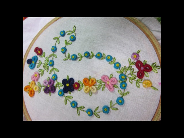 Hand Embroidery Designs   Design for dresses   Stitch and Flower-74
