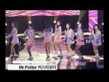 다이아 DIA[4K직캠]Mr.Potter 공연중 방송사고@1125 Rock Music