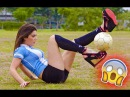 Football Freestyle Show by Amazing Girls (Raquel Benetti, Indie Cowie, Lisa)