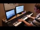 Тучи в Голубом (сериал Московская Сага) / Clouds in the Blue (Moscow Saga series) - пианино