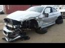 BMW 4. Body repair, work with metal. Ремонт кузова, работа с металом.