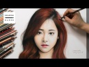 Speed Drawing TWICE - Tzuyu Drawing Hands