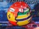 O incrível capacete Senna/Schumacher