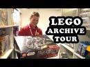 Inside the LEGO Archive Vault in Denmark