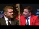 CANELO TELLS GOLOVKIN, I NEVER DUCKED YOU I WAS BORN WITH NO FEAR