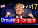 Breaking Tonight , President Donald Trump Latest News Today 2/17/17 ,Trump Makes Remarks at Boeing