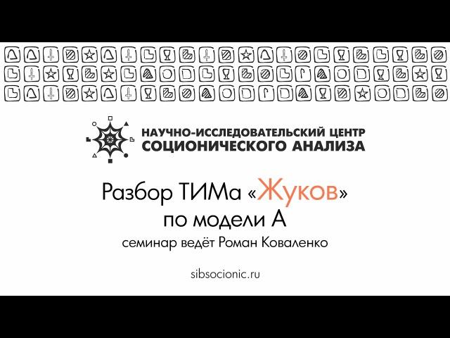 Жуков: разбор ТИМа по модели А