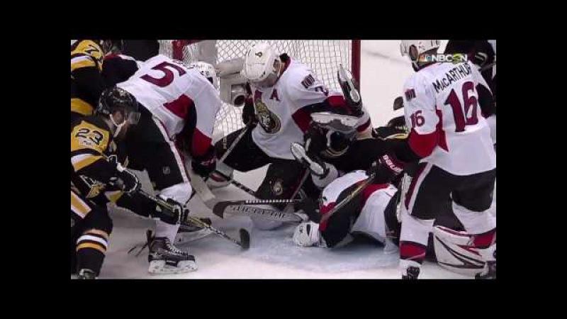 Обзор матча NHL. 7-й матч Питтсбург - Оттава 3:2 (ОТ) 26.05.2017