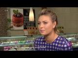 Мария Шарапова в Москве. Sugarpova. Новое интервью 01.02.2017