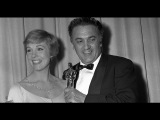 Federico Fellini accepting Best Foreign Language Film for