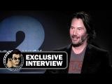 Keanu Reeves Exclusive JOHN WICK 2 Interview (JoBlo.com)