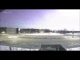 Meteor Breakup over Appleton, WI 262017 0125am