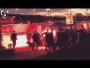 Partizan Hooligans Grobari vs Police in Alkmaar