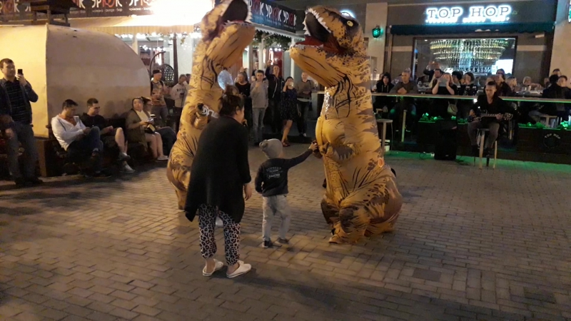 Приключения Тиранозавра Рекс на Баумана vk.com/t_rex_kazan
