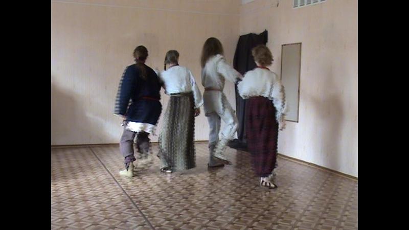 Беларускі Народны Танец Журавель Школа Танцаў Аляксея Бурнасенка