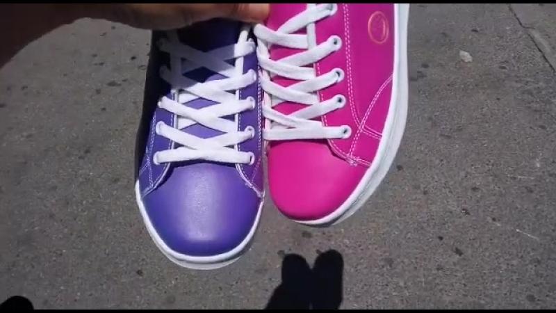 Бомба! Кроссовки, меняющие цвет!