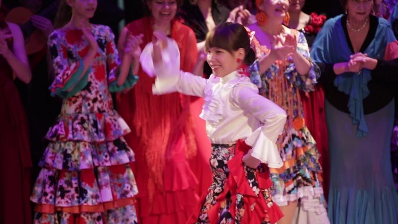 V фестиваль фламенко рязань. Фиеста. Соня Бутенко