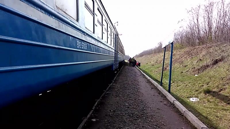 без номерной електропоезд отправляется с о.п. Сосоновка