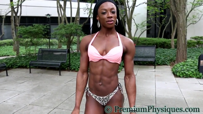 19-year-old Figure Sensation Shanique Grant