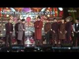 161119 Melon Music Awards 멜론 뮤직어워드 EXO Top 10