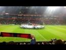 Гимн Лиги Чемпионов УЕФА 2016-2017 с VIP сектора