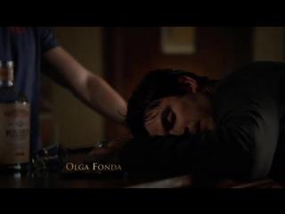 Дневники вампира -  -   Деймон и Елена просыпаются после расставания (Озвучка Кубик в кубе)