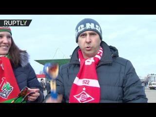 «Ложки победы»: московские болельщики испробовали Национальный инструмент к ЧМ-2018