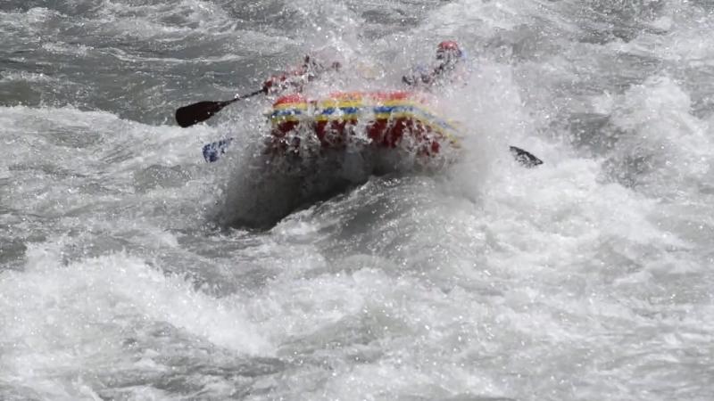 Сплав по реке Белой. Республика Адыгея