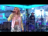 Zara Larsson Never Forget You live on GMA