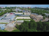 Немного вида сверху с Этапа Кубка мира по выездке CDI-W Nizhny Novgorod 2017