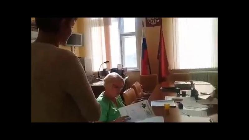Член ТИК Лосиноостровского района от ЕДРО отказ в регестрации кандидата от КПРФ!