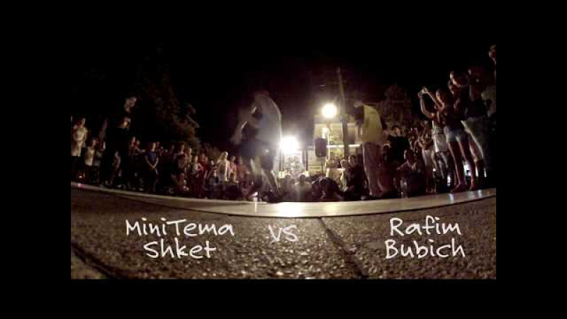 Minitema Shket VS Rafim Bubich 45 градусов выше 0