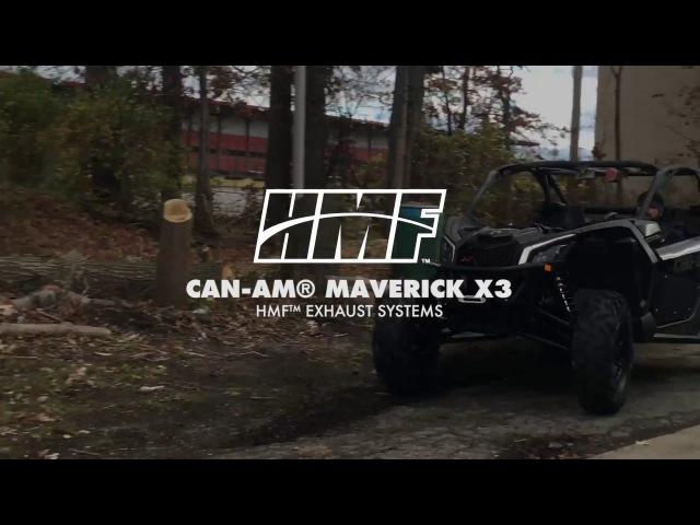 HMF™ Exhausts - Can-Am® Maverick X3