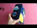 Мягкая развивающая книга из ткани и фетра для Андрюши.