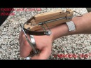 Making a 5 Shots Assassin's Creed Style Wrist Crossbow | Shooting
