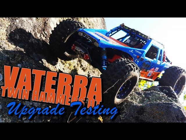 Vaterra Twin Hammers DT Upgrade Testing смотреть онлайн без регистрации