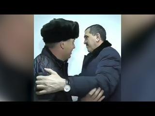 Глава Ингушетии проверил качество побелки спинами подрядчиков — видео