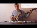 Импровизация на бас гитаре 2 Ионийский лад Разбор музыкальных фраз