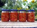 Кабачки в томате на зиму / Очень вкусный салат / Пошаговый рецепт