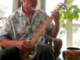 Planxty Irwin - OCarolan on a homemade banjo