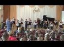 Музыка и море в первой музыкальной школе проходит ряд концертов