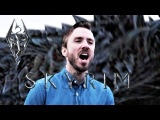 Skyrim The Dragonborn Comes - Peter Hollens feat. Dragon