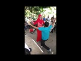 Pathan Boy Dance With Malaysian Girl On A Public Point | Pakistani Pathan