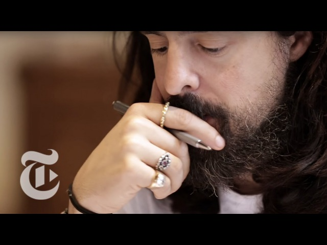 Alessandro Michele Interview   In the Studio   The New York Times