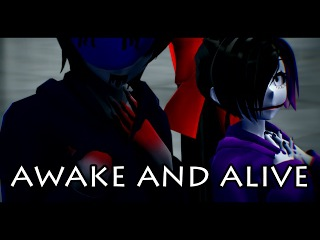 [MMD x Creepypasta]-Awake and Alive-[Eyeless Jack x Nina the killer]-Motion DL
