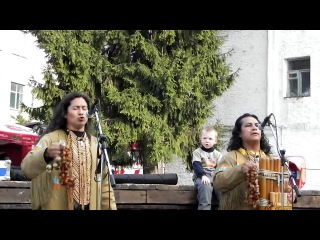 Alborada del Inka в Житомире 17.05.2011