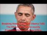 Breaking News Alert: President Obama Tells The FBI to Give Him Immunity