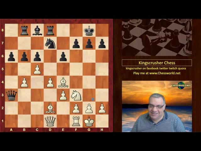 Levon Aronian vs Magnus Carlsen : Altibox Norway (2017) · Semi-Slav Defense